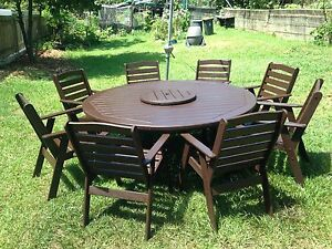 8 Seat Outdoor Set (Free Delivery) Highgate Hill Brisbane South West Preview