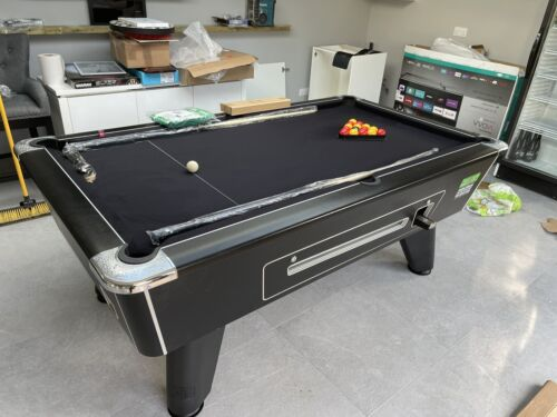 supreme winner 7ft pool table Free Play Or Coin Operated