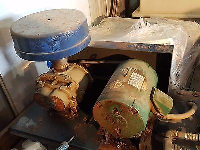 Roots Rotary Lobe Blower Wmarathon Electric Motor