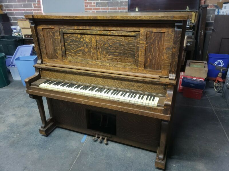 Antique Baldwin Ellington upright Player Piano