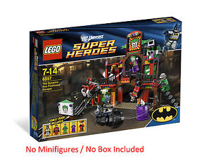 LEGO BATMAN NEW DC UNIVERSE DYNAMIC DUO FUNHOUSE ESCAPE 6857 NO MINIFIGURES