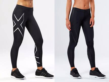 BRAND NEW FEMALE 2XU COMPRESSION TIGHTS + FREE POSTAGE