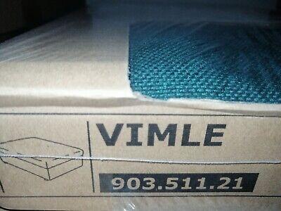 Ikea VIMLE Bezug für Hocker mit Aufbew. 903.511.21 Gunnared dunkelgrün neu OVP