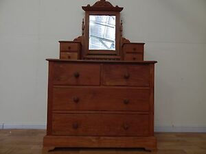 Solid teak dressing table SYDNEY DELIVERY AVAILABLE Windsor Hawkesbury Area Preview