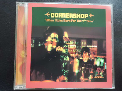 CORNERSHOP  -   WHEN I WAS  BORN FOR THE 7th TIME ,  CD   1997 , INDIE  ROCK ,