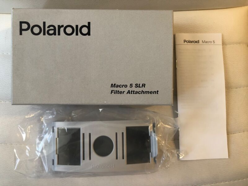 Polarizing Filter Attachment For Polaroid Macro 5 SLR Spectra Camera New