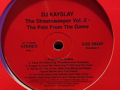Dj Kay Slay LP The Street sweeper Vol. 2 (dbl LP) Mint Condition (Dj Kay Slay The Streetsweeper Vol 2)