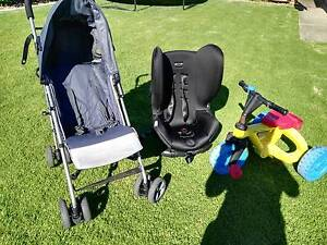 car seat, pram and 3 wheeler all for just $60 Albert Park Charles Sturt Area Preview