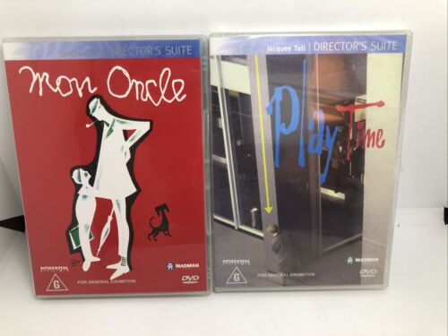 Jacques Tati - Playtime Mon Oncle - LIKE NEW SEALED - $22.00