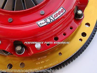 McLEOD RXT 1200-HP TWIN DISC CLUTCH w/ STEEL FLYWHEEL 97-15 GM LS ENGINE T56