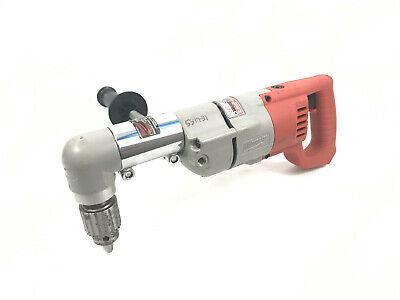 Milwaukee 1107-1 Heavy Duty 12 Right Angle Drill W 48-06-2871 No Power Cord