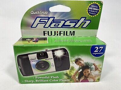 Fujifilm QuickSnap Flash 800 Speed Single Use Camera -EXP. 8/13
