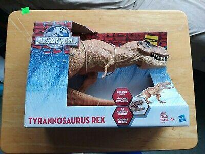 2015 Jurassic World Tyrannosaurus Rex Chomping Jaws T-Rex Hasbro Jurassic Park