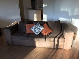COMFORTABLE SOFT SOFA - BROWN Kensington Eastern Suburbs Preview