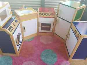 Beautiful quality wooden kitchen set Westminster Stirling Area Preview