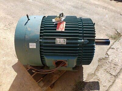 Reliance Energy Efficient 100 Hp Motor 460v 1180 Rpm 3 Ph 444t Frame