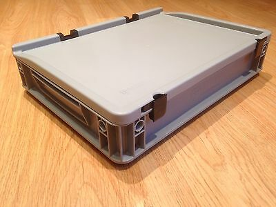 Storage Box/Euro Container Shallow, suitable for Tool / Instrument Storage