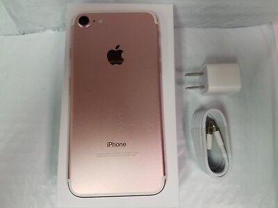 Apple iPhone 7 - 32GB - Rose Gold (Unlocked) A1660 (CDMA + GSM). Fair 6/10