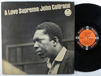 JOHN COLTRANE A Love Supreme IMPULSE SMAS-90215 LP VG+ club edition gatefold