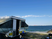 Caravan Camper Trailer Poptop Pop up Sleeps 6 Peakhurst Hurstville Area Preview