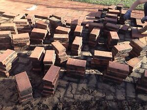 Free clay pavers Riverstone Blacktown Area Preview