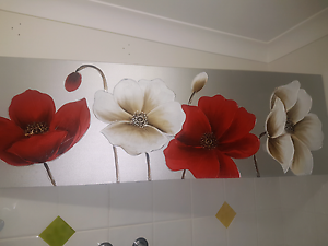 Beautiful large floral canvas Broadbeach Waters Gold Coast City Preview