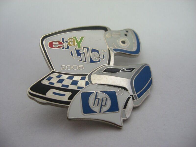 eBay Live 2005 HP Hewlitt Packard Computer Print Camera Design 10 Year Pin