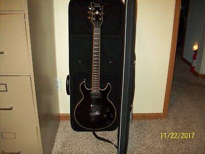 Schecter Electric 6-String Guitar w/ Cadine Digital Tuner and Roadrunner Case