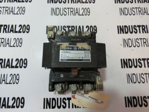 GENERAL ELECTRIC CONTACTOR CR305E0 SIZE 3 NEW