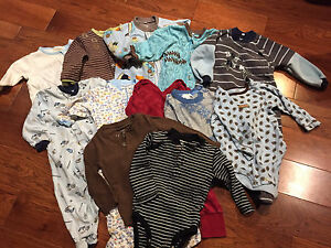 Bundle of boys clothes (18 pieces) 9-12 month