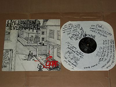 THE GORE HOUNDS halloween everywhere AUTOGRAPHED LP garage punk gorehounds](The Garage Halloween)