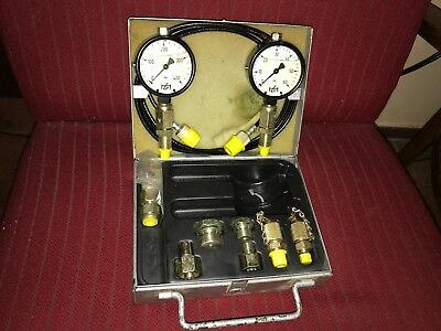 Hydrotechnik Gmbh Hydraulic Pressure Tester Kit