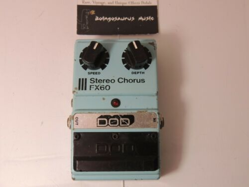 Vintage DOD FX60 Stereo Chorus  Effects Pedal Free USA Shipping