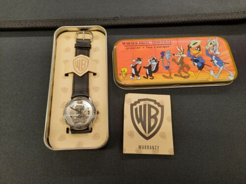 Marvin the Martian watch Warner Brothers Timepiece 1994 Fossil  Hong Kong wrist
