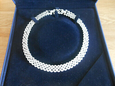 Stunning Swarovski Crystal Neck Pave Collar Necklace No. 1808171 - Boxed, used for sale  Shipping to South Africa