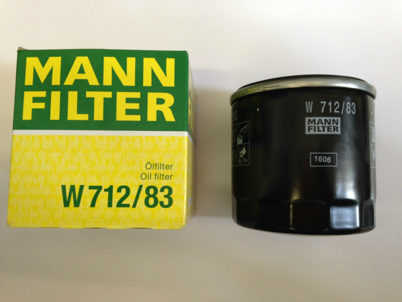 ENGINE OIL FILTER AND SEAL/O-RING - MANN FILTER - W71283/11427791059