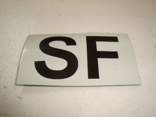 SF Special Forces IR Duty Identifier Tab Patch w/Hook Back Free Shipping