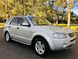2006 Ford Territory Ghia (4x4) 6 Speed Dual Fuel Long Rego