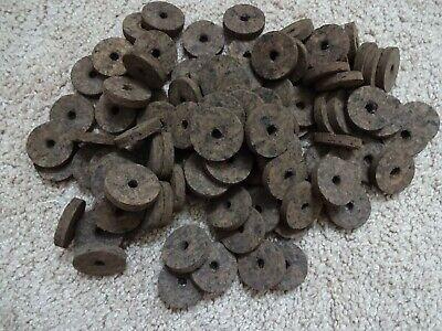 "Cork Rings Nice! 12 Deep Blue Burl,1 1//4"" X 1//4"" X 1//4"""