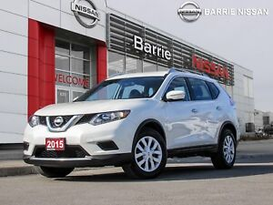2015 Nissan Rogue S CLEAN CARPROOF ONE OWNER LOCAL TRADE