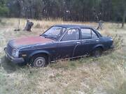 1980 TE Holden Gemini SLX wrecking Elphinstone Mount Alexander Area Preview