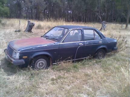 1980 TE Holden Gemini SLX wrecking
