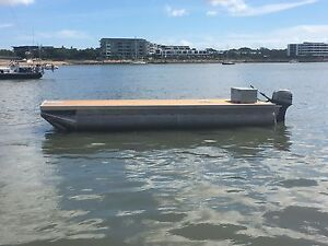 Pontoon Boat Hawthorne Brisbane South East Preview