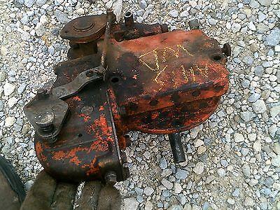 Allis Chalmers Ac Wd Wd45 Tractor Hydraulic Pump Valve Works Good