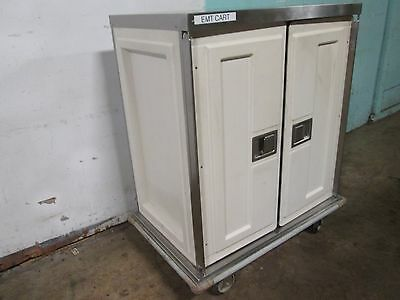 Caddy Corp H.d. Commercial S.s. Insulated 2 Compartments Food Delivery Cart