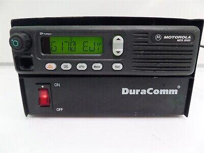 Motorola Mcs2000 M01hx914w Radio Duracomm Lp-14n Power Supply