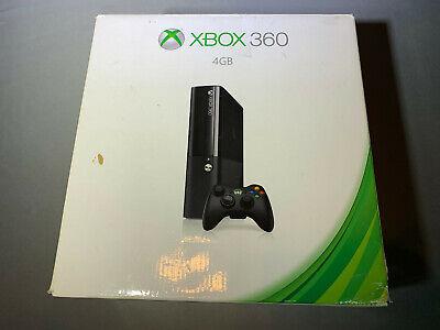 Microsoft Xbox 360 4GB Black Console New Open Box