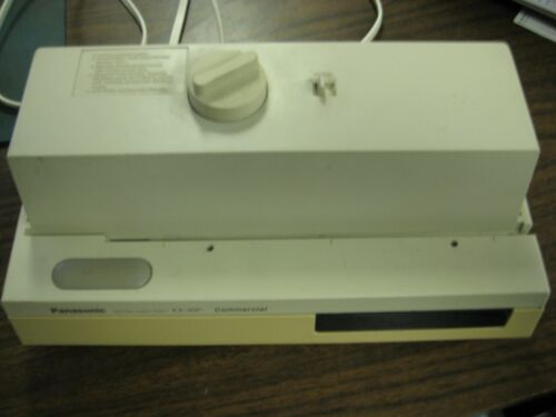 Panasonic Commerical Electric Three Hole Paper Punch KX-30P, Tested & Working