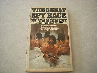 THE GREAT SPY RACE by ADAM DIMENT, BANTAM EDITION 1969, VINTAGE PAPERBACK!