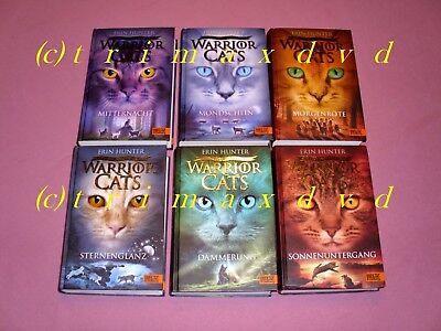 Warrior Cats 2.Staffel Die neue Prophezeiung (Erin Hunter) _ Komplett Gebunden